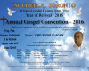 Annual Gospel Convention 2016